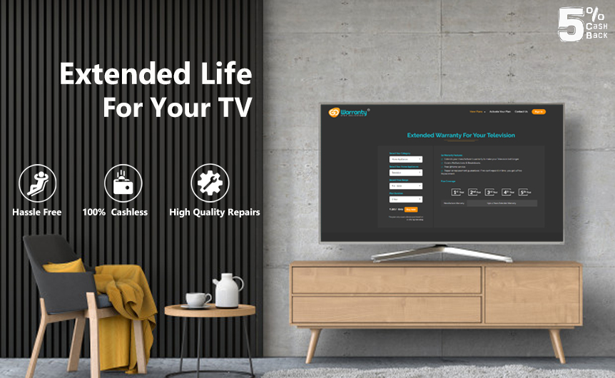 extended warranty for television