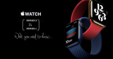 Apple Watch Series 3 VS Apple Watch Series 6. What you need to know