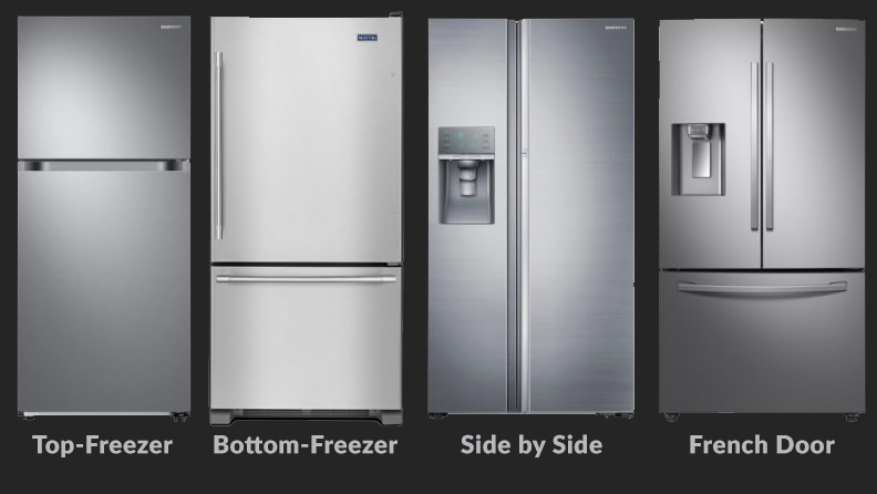 Types of refrigerator