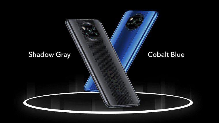 Poco X3 Color options