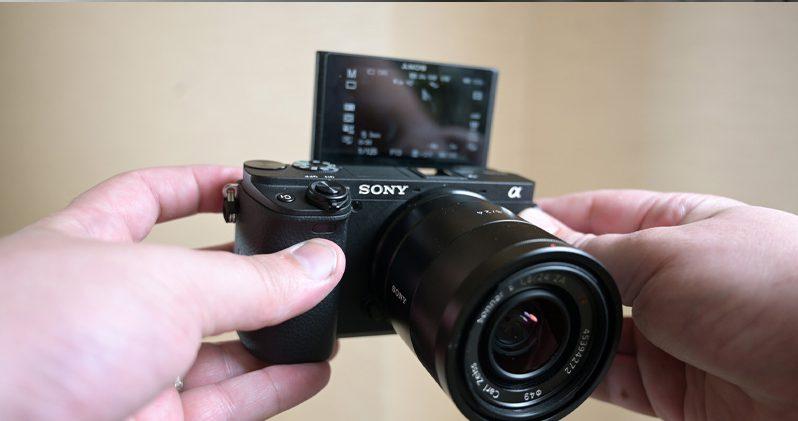 Aony A6400 DSLR Camera Best vlogging camera