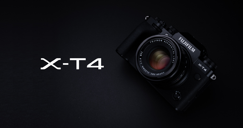 Fujifilm X-T4-Best vlogging camera