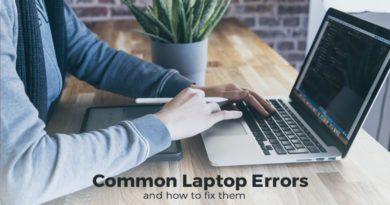 Common Laptop Errors
