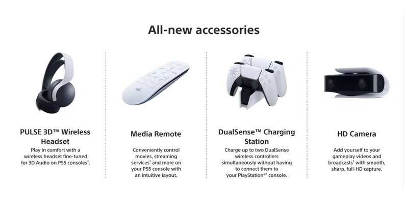 Sony PS5 India Sccessories