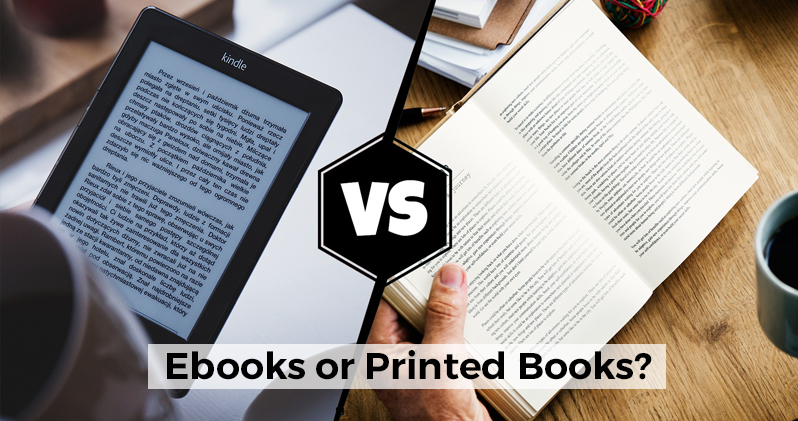 Books vs Kindle Readers