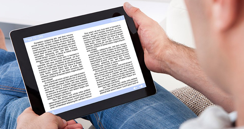 Comfortable Reading with Ebooks