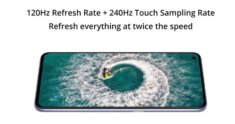 120 hz Dsiplay Realme X7 Pro