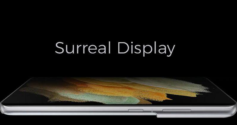 Samsung S21 Display