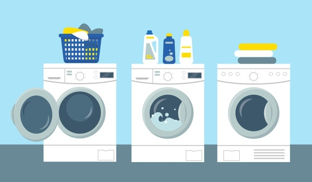 storing washer and dryer