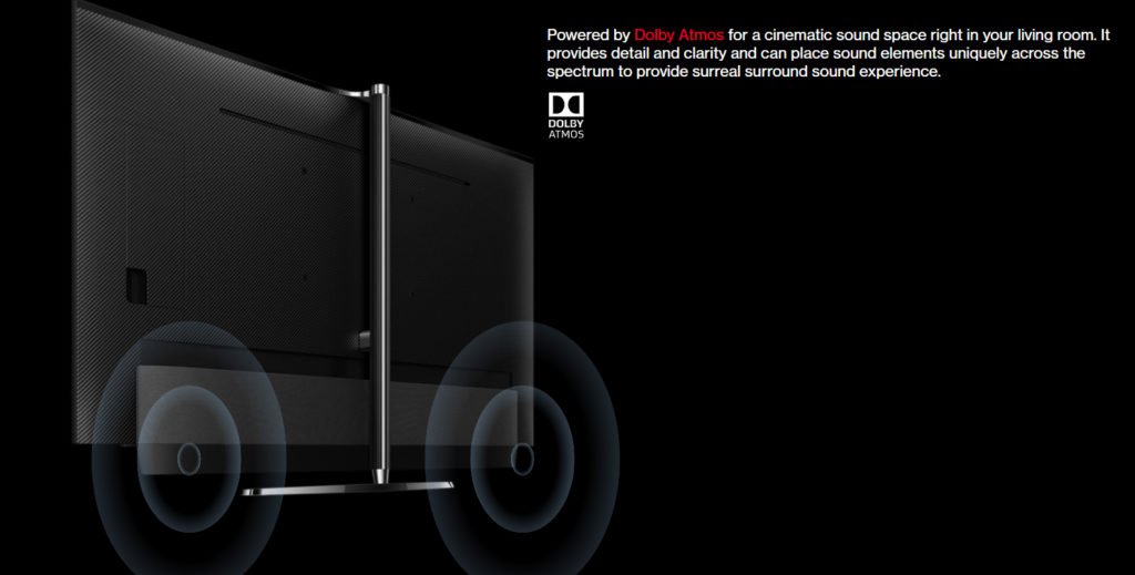Powered by Dolby Atmos for a cinematic sound space right in your living room