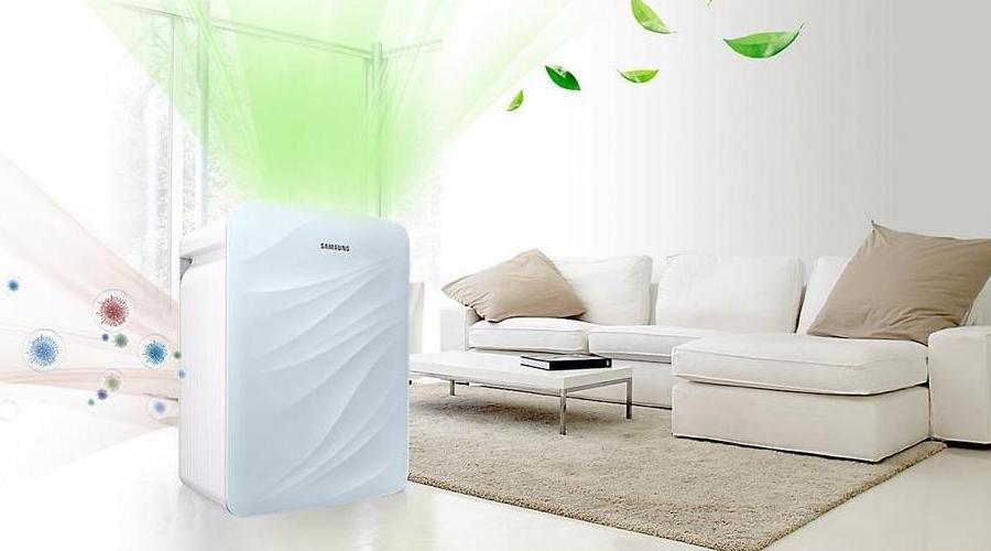 Samsung AX40K3020WU/NA 34-Watt Air Purifier
